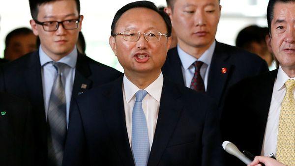 Yang Jiechi, máximo diplomático chino. (Reuters)