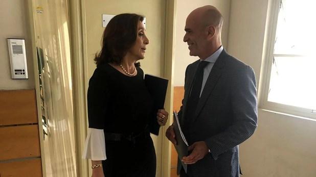 Durante el gobierno de Mauricio Macri la AFI estuvo dirigida por Silvia Majdalani y Gustavo Arribas