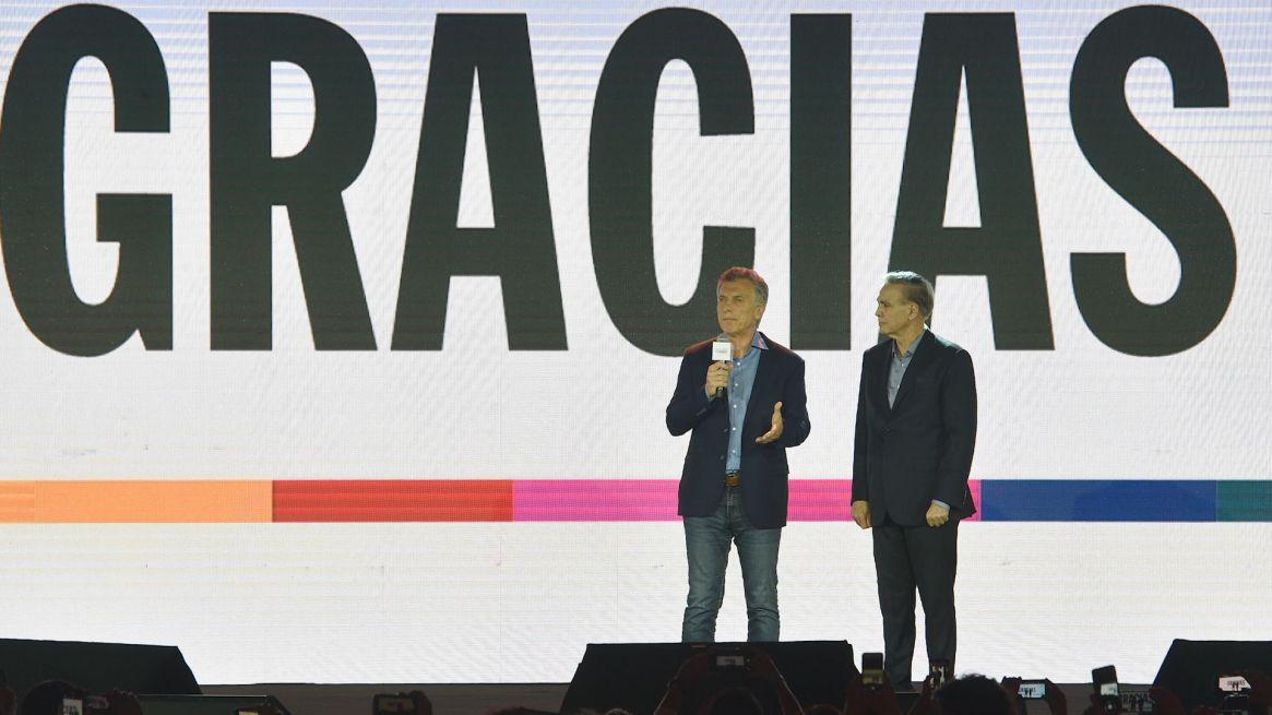 Mauricio Macri y Miguel Ángel Pichetto (AP)