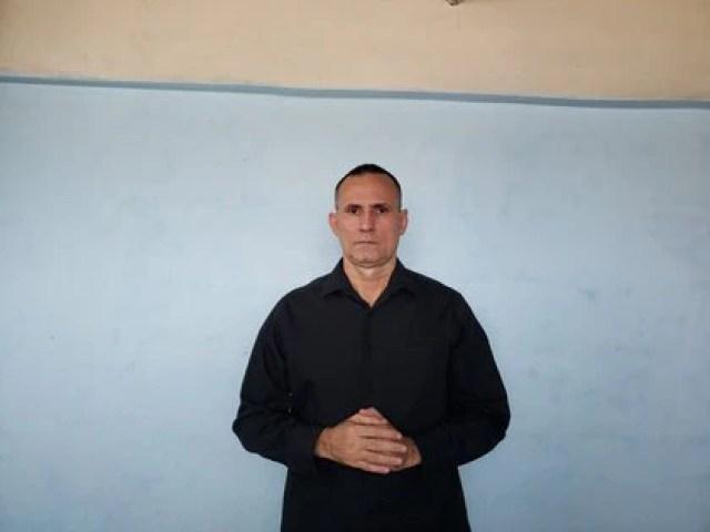 José Daniel Ferrer, coordinador de Unión Patriótica de Cuba, UnPaCu, desde su prisión domiciliaria (Familia Ferrer / Infobae)
