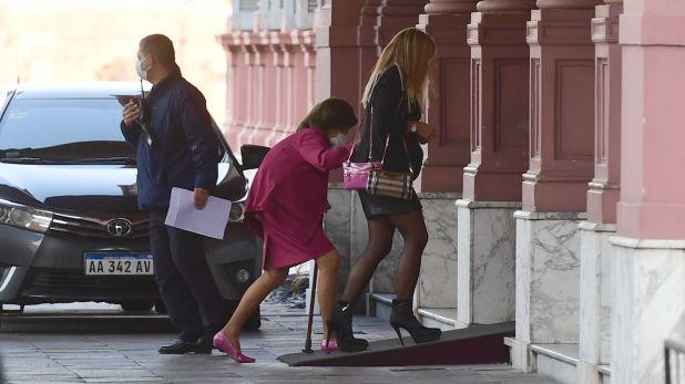 reforma judicial reunion en casa rosada 29-7