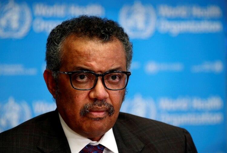 El director general de la OMS, Tedros Adhanom Ghebreyesus (Reuters)