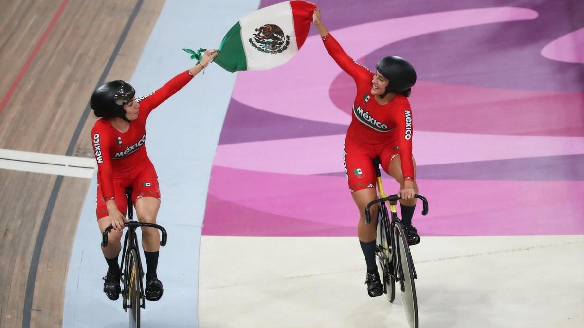 Oro y récord para Daniela Gaxiola y Jessica Salazar en velocidad por equipos en los Juegos Panamericanos 2019