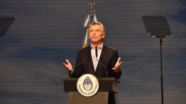 El presidente Mauricio Macri (Franco Fafasuli)