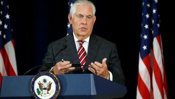 Rex Tillerson, secretario de estado de los Estados Unidos.
