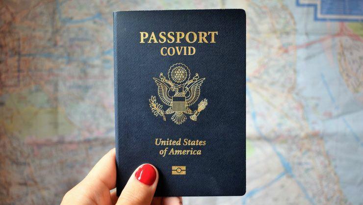 Pasaporte COVID - Estados Unidos