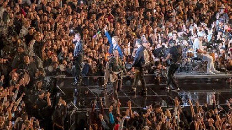 La gira comenzó en diciembre y constó de siete shows, con un cierre inimaginable (AP)