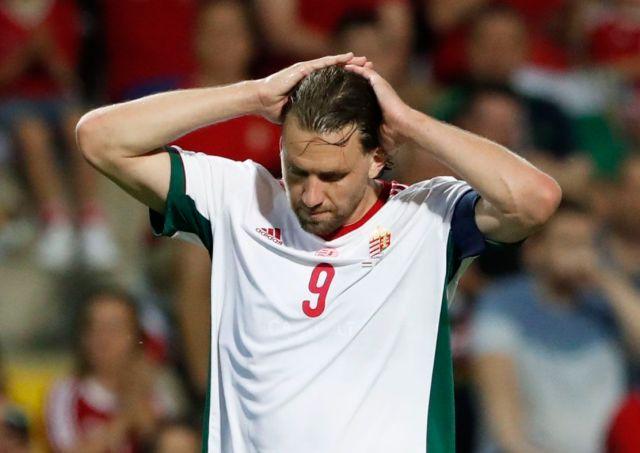 Adam Szalai es la figura de la selección de Hungría (Foto: REUTERS)