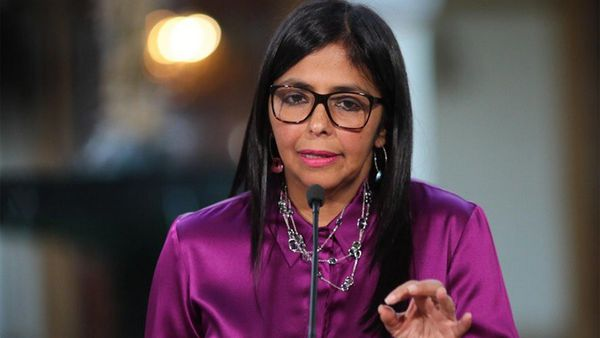 Delcy Rodríguez, canciller venezolana