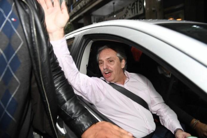 Alberto Fernández, candidato a presidente