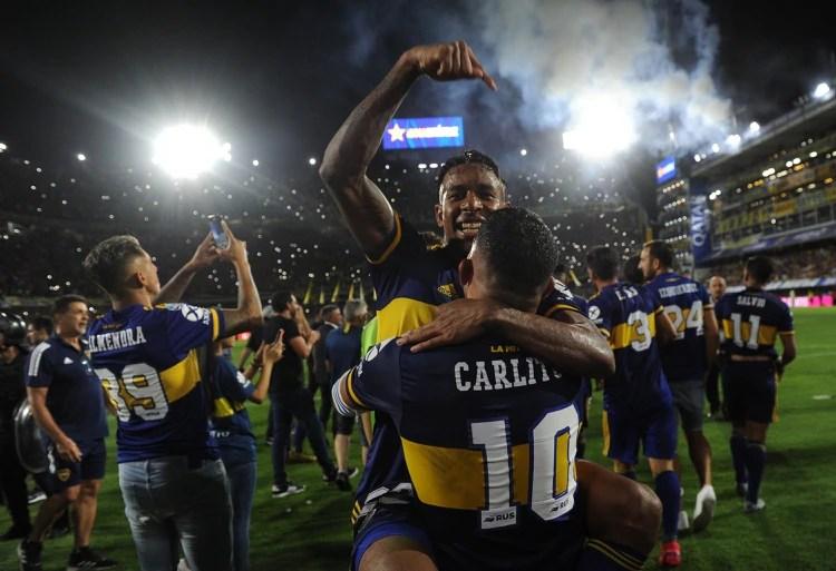 Boca salió campeón (Foto: Télam)