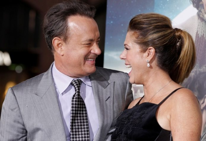 Hanks y Wilson. REUTERS/Fred Prouser/File Photo
