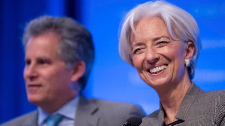 David Lipton y Chrsitine Lagarde