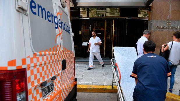 """""""Swiss Medical hace 20 días atrás, entre pacientes leves, tenía 100 diarios y hoy tiene 220 diarios"""", contó Belocopitt"""