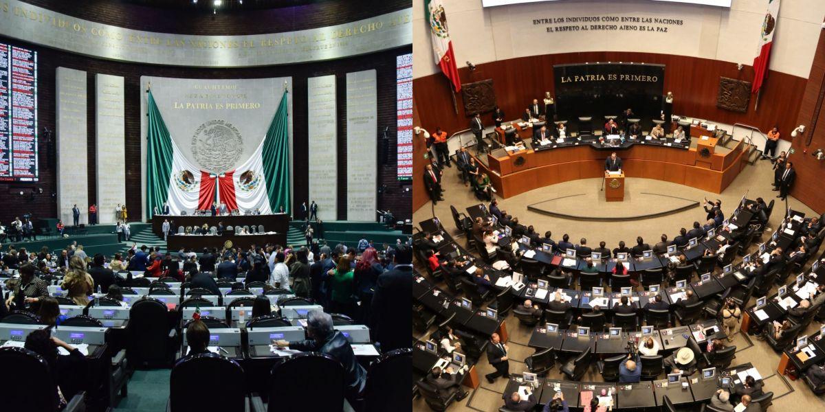 Cámara de diputados y de senadores (Foto: Cuartoscuro)
