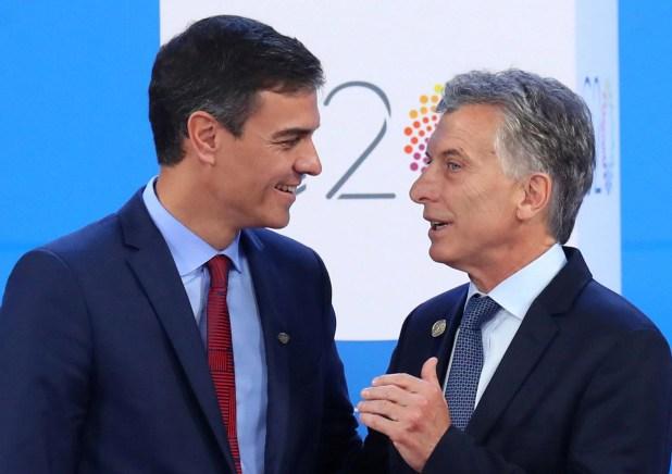 Macri será recibido por Pedro Sánchez y, junto a Antonio Guterres, inaugurará la cumbre de Jefes de Estado de la COP25. (Reuters)