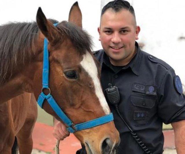 Juan Pablo Roldán y Místico, su caballo.
