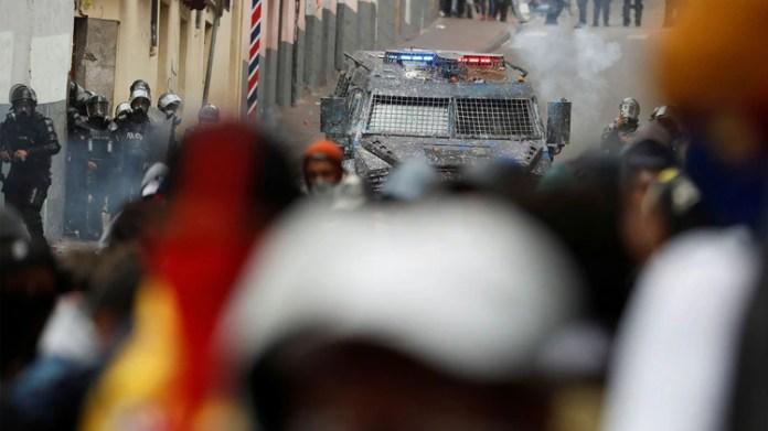 El gobierno dispuso un gran operativo de seguridad (REUTERS/Carlos Garcia Rawlins)