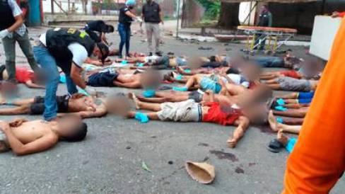 El presidente interino Juan Guaidó denunció al régimen chavista por la masacre