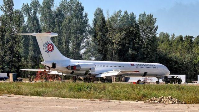 El Ilyushin IL-62M, el avión oficial del gobierno norcoreano
