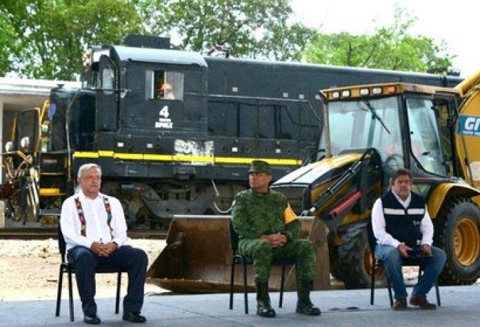 AMLO en la ceremonia de arranque de obras del Tren Maya (Foto: Cortesía de Presidencia de México)