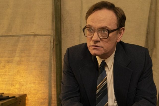 Jarred Harris como Valeri Legásov en la serie Chernobyl (HBO)