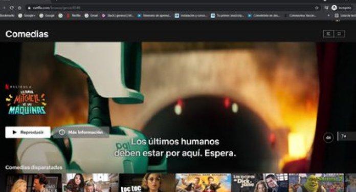 Comedias de Netflix
