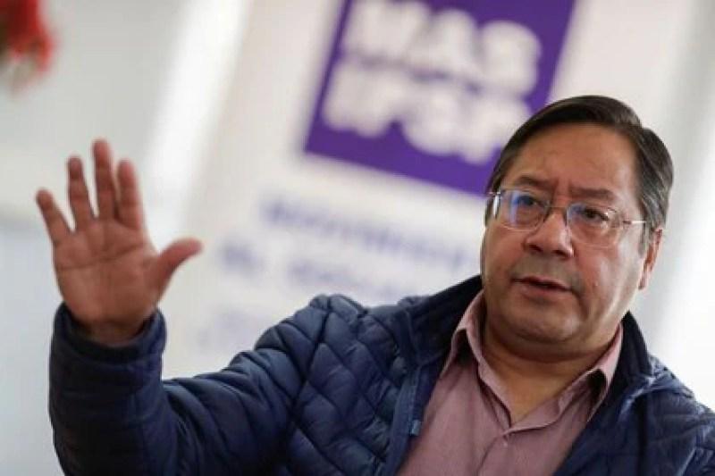 Luis Arce, presidente electo de Bolivia por el Movimiento al Socialismo (MAS) de Evo Morales (REUTERS/Ueslei Marcelino)