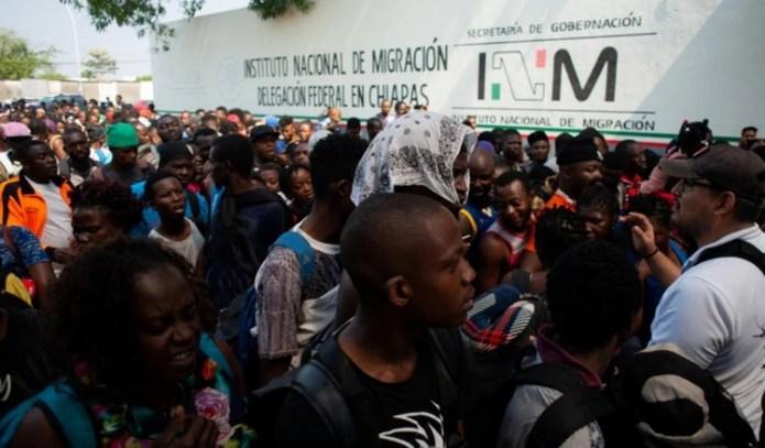 Resultado de imagen para migrantes africanos en mexico