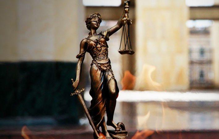 La justicia está representada por mujeres en las estatuas, pero pocas veces en la vida real.