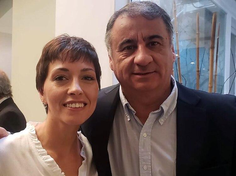 Mayra Mendoza y Edgardo Depetri, candidatos en Quilmes y Lanús, respectivamente
