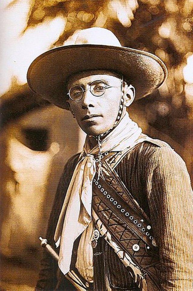 """El cangaceiro más famoso de todos fue Virgulino Ferreira da Silva, alias """"Lampião"""" o """"El rey del cangaço"""" (Creative commons)"""