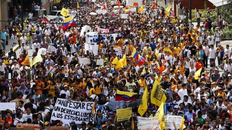 Los estudiantes saldrán a las calles para protestar contra Nicolás Maduro