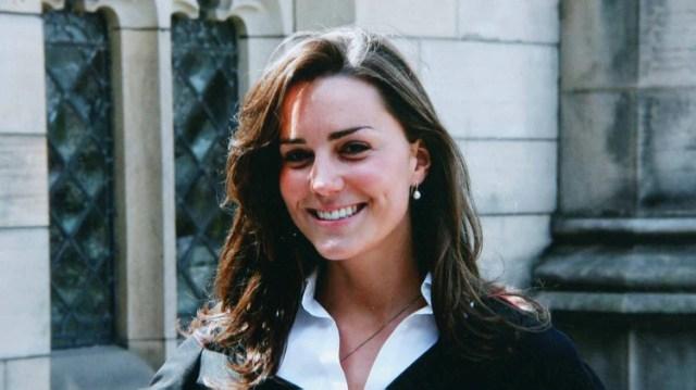 Kate Middleton en su época de universitaria