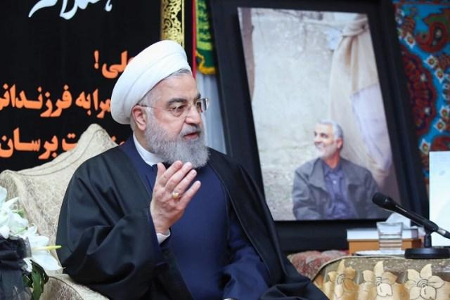El presidente de irán, Hassan Rouhani (AFP)