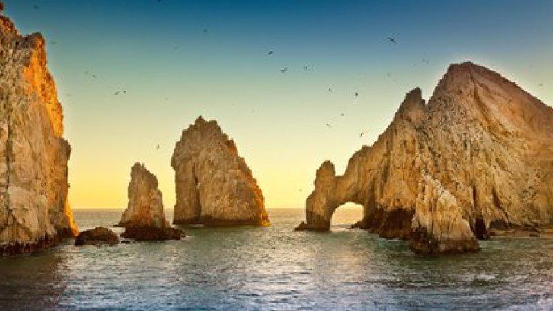 View of El Arco, popular postcard of Los Cabos, Baja California Sur, in Mexico.  (Shutterstock)