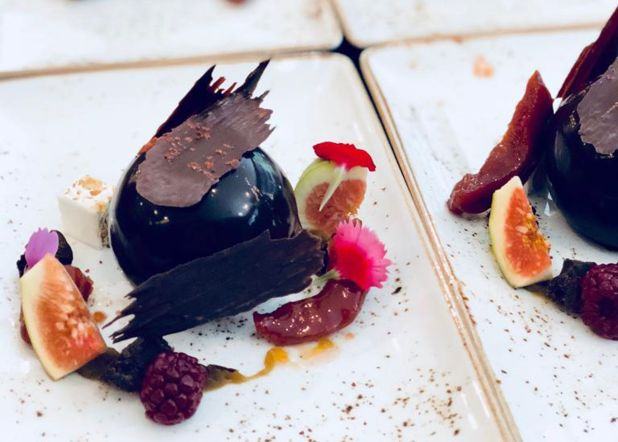 Mousse de chocolate por Gustavo Nari