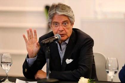 En la imagen, el presidente electo de Ecuador, Guillermo Lasso, quien reemplazará a Moreno el 24 de mayo (EFE/ José Jácome/Archivo)