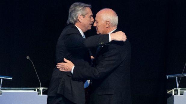 Alberto Fernández y Roberto Lavagna, su aliado silencioso