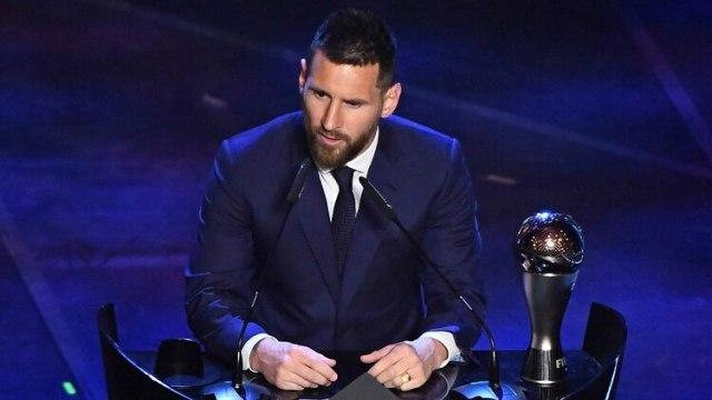 Lionel Messi se quedó con el premio The Best (Reuters)