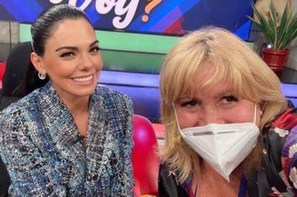 Magda Rodríguez compartió una foto junto a Livia Brito que se llenó de críticas (IG: magdaproducer)