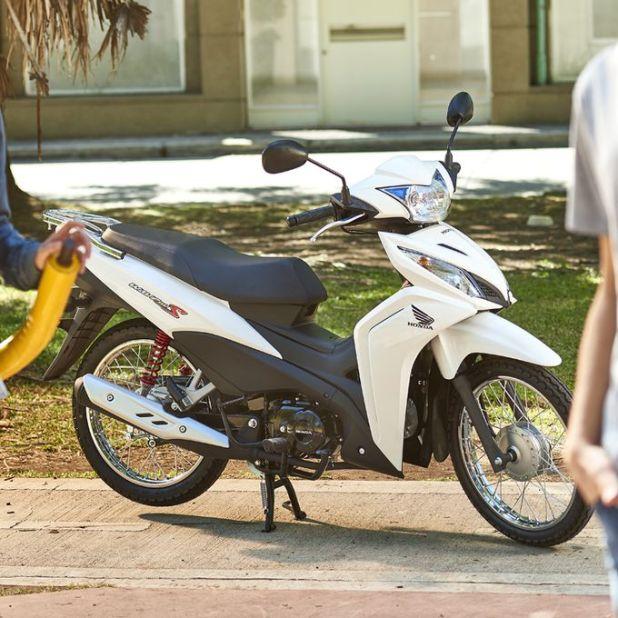 El modelo más patentado desde 2019 es la moto Honda Wave