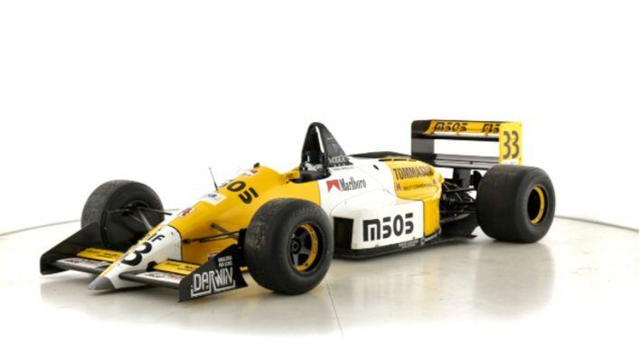 Auto de F1 de Larrauri
