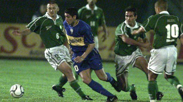 Doce juveniles fueron anotados con el nombre de Riquelme en un torneo de fútbol de San Pablo (Fotobaires)
