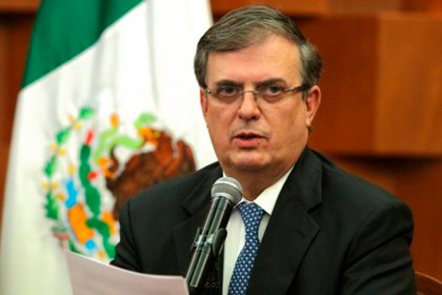 Marcelo Ebrard said that Cienfuegos returned as another citizen (Photo: EFE / José Pazos)