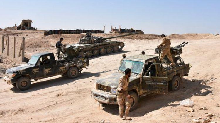 Tropas sirias en el asalto sobre Deir Ezzor (AFP)