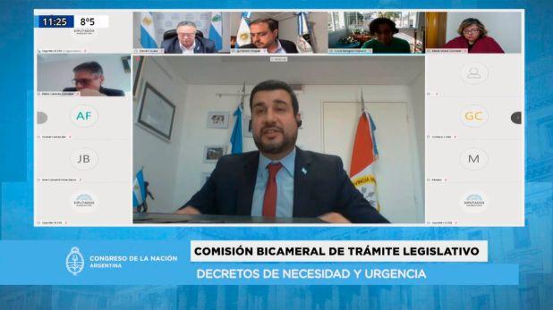 Debate Bicameral de Trámite Legislativo Diputados DNU