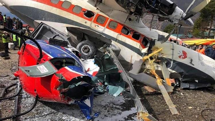 El avión se estrelló poco después de despegar (EFE)
