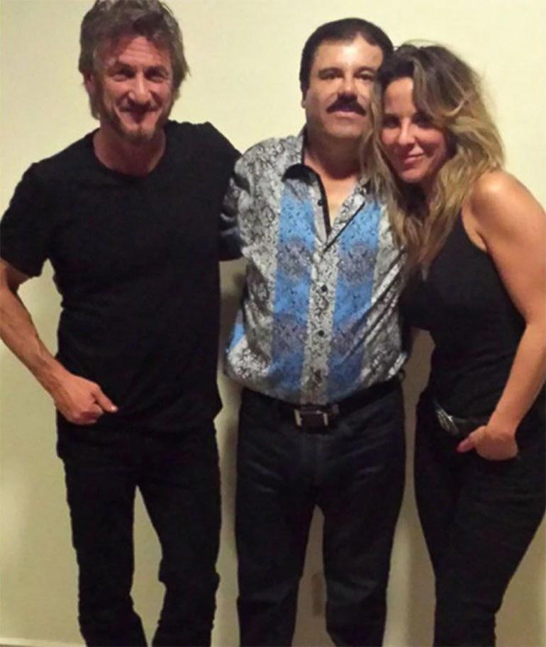"""Explosivo encuentro de los actores Kate del Castillo y Sean Penn con el narcotraficante Joaquín """"El Chapo"""" Guzmán (Foto: Cuartoscuro)"""