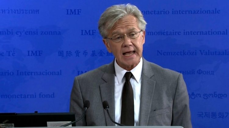 Gerry Rice, vocero del FMI